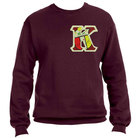 KAY- Sweat Shirt002(Maroon) - Adgreek