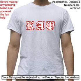 Kappa Alpha Psi T-shirt - Adgreek