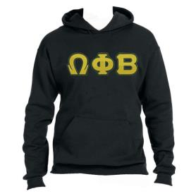 Omega Phi Beta Black Hoodie1 - Adgreek