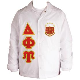 Delta Phi Upsilon White Line Jacket1 - Adgreek