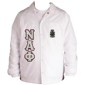 Nu Alpha Phi White Jacket1 - Adgreek