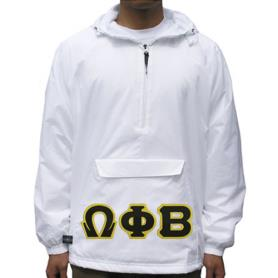 Omega Phi Beta White Pullover1 - Adgreek