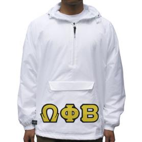 Omega Phi Beta White Pullover2 - Adgreek