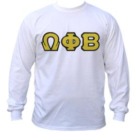 Omega Phi Beta White LST2 - Adgreek