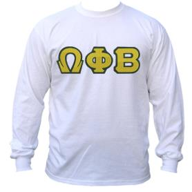 Omega Phi Beta White LST3 - Adgreek