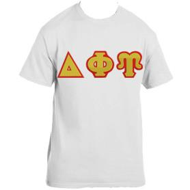 Delta Phi Upsilon White Tshirt1 - Adgreek