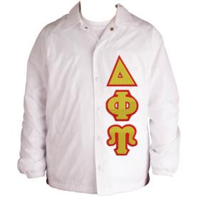 Delta Phi Upsilon White Line Jacket3 - Adgreek