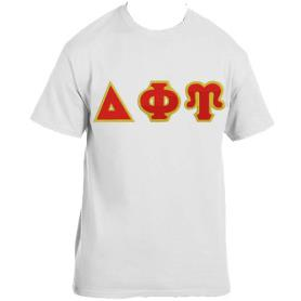 Delta Phi Upsilon White Tshirt2 - Adgreek