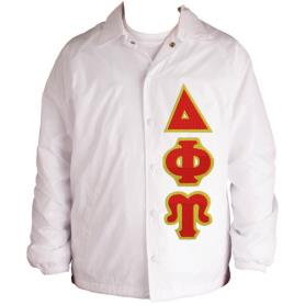 Delta Phi Upsilon White Line Jacket4 - Adgreek