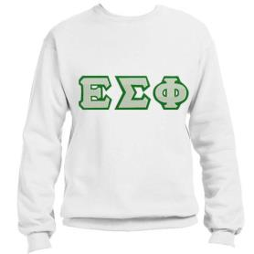 Epsilon Sigma Phi White Crewneck1 - Adgreek