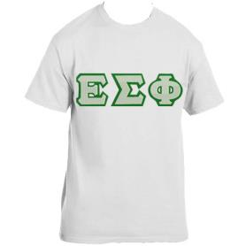 Epsilon Sigma Phi White Tshirt - Adgreek