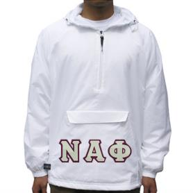 Nu Alpha Phi White Pullover1 - Adgreek
