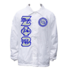 White ZFB Line Jacket - Adgreek